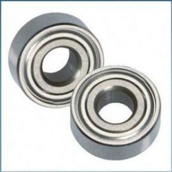 Rulment 5x10x4mm cu garnitura metalica si bile ceramice