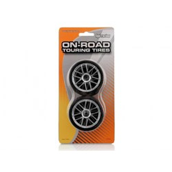 MOUNTED X-PATTERN TYRE D COMPO