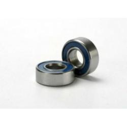 Rulmenti cu bile etansati cu garnitura din cauciuc albastru (5x11x4mm) (2)