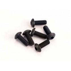 Suruburi, 3x8mm cap plat matritat, (cheie Imbus hex) (6)