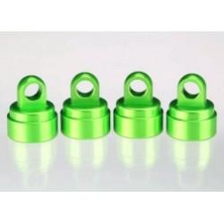 Capete amortizor, eloxate verde (4) (pentru toate amortizoarele Ultra Shocks)
