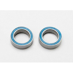 Rulmenti cu bile etansat cu cauciuc albastru (8x12x3.5mm) (2 buc)