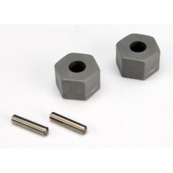 Set piulite (2 buc) si stifturi 2.5x10mm ( 2 buc)