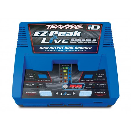 Incarcator Dual LiPo EZ-Peak Live 26 Amperi cu tehnologie iD