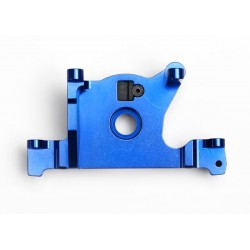 Suport motor din aluminiu anodizat albastru