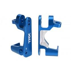 Portfuzete albastre din aluminiu pentru stanga si dreapta