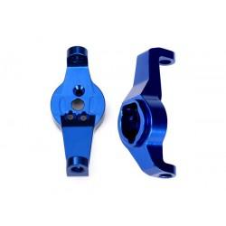 Portfuzete albastre din aluminiu pentru stanga si dreapta (2 buc)