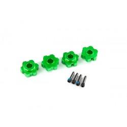 Hexagoane verzi pentru roti...