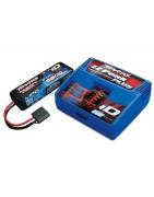 Upgrade baterii si incarcatoare pentru Rustler 4WD VXL.